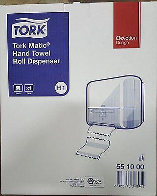 Tork Matic Spender 551000 mit Sichtfenster für H1 Rollenhandtücher