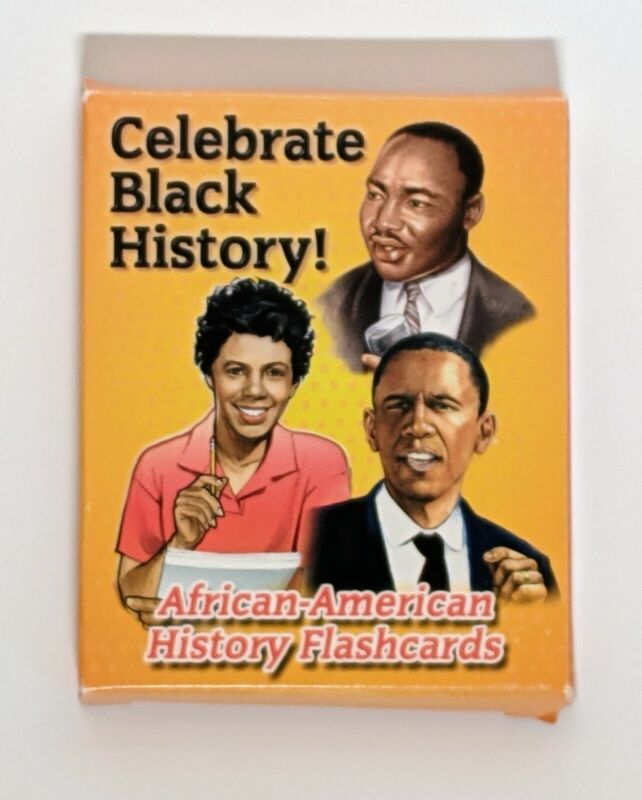 African American History Flash Cards   Black History  28 People