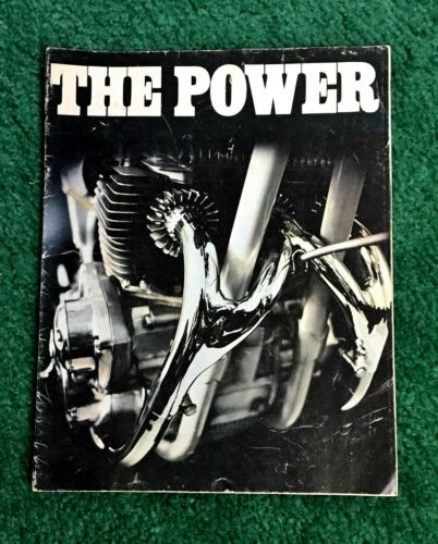 1971 BSA MOTORCYCLE BROCHURE LIGHTNING THUNDERBOLT 650 A75 ROCKET-3 750 B50MX