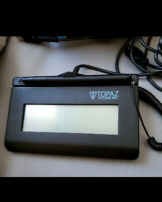 Topaz Systems T-l460-hsb-r Siglite Usb Electronic Signature Capture Pad Unit