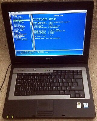 "Dell Inspiron 1300 Laptop Win 10 Pro 15.4"" 2.13GHz 2GB RAM 120GB HDD CD-RW/DVD"