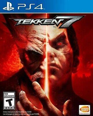 Tekken 7: Playstation 4 [Brand New] PS4 Region Free