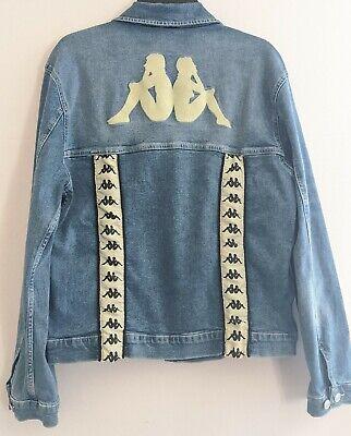 Kappa Original 222 Band Boetino Jeans Jacket Large.