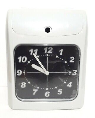 Electronic Employee Attendance Punch Time Clock Payroll Recorder Lcd Display