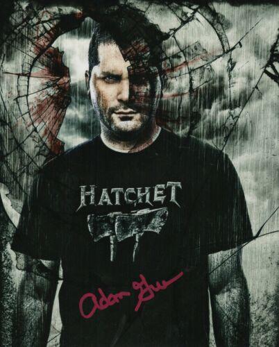 Adam Green Autograph Signed 8x10 Photo - Hatchet Director (Zobie COA)