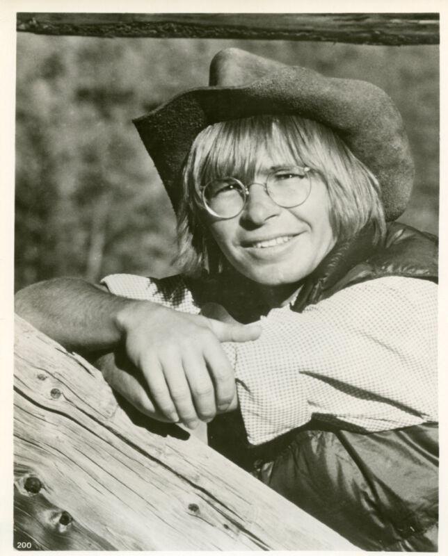 John Denver With Glasses  8x10 Photo Print