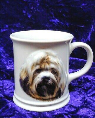 Lhasa Apso Dog Face Coffee Mug 2006 3D Ceramic Cup Augello X-pres Best Friend