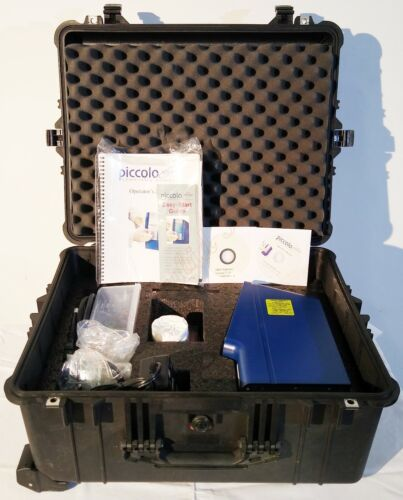 Abaxis Piccolo Xpress Chemistry Blood Analyzer  with Accessories & Pelican Case