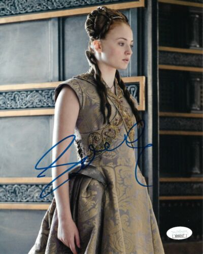 Sophie Turner Game of Thrones Autographed Signed 8x10 Photo JSA COA #23