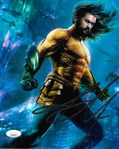 Jason Momoa Aquaman Autographed Signed 8x10 Photo JSA COA #CB11