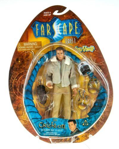 NEW Farscape JOHN CRICHTON - ASTRONAUT AND SCIENTIST Series 1 Action Figure