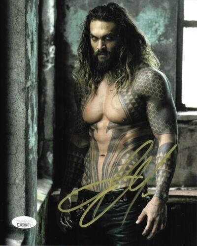 Jason Momoa Aquaman Autographed Signed 8x10 Photo JSA COA #9