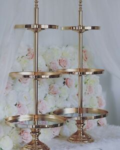 For Hire: 3 tier gold cake stand $20 Sydney City Inner Sydney Preview