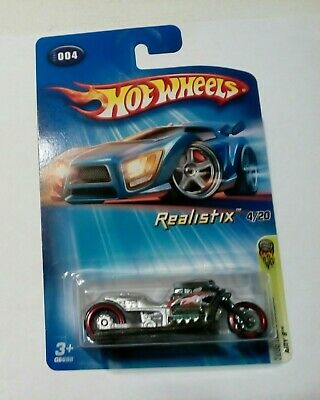 2005 Hot Wheels Airy 8 2005 First Edition (#004) SILVER new