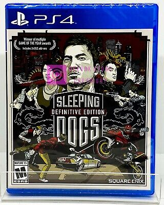 Sleeping Dogs Definitive Edition - PS4 - Brand New | Factory Sealed