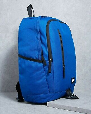 Nike All Access Soleday Backpack Gym-Blue and Black