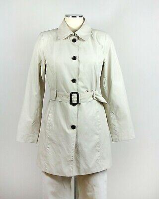 CONBIPEL Trench Coat Spolverino Grigio Chiaro Women's Tailored FitSize S