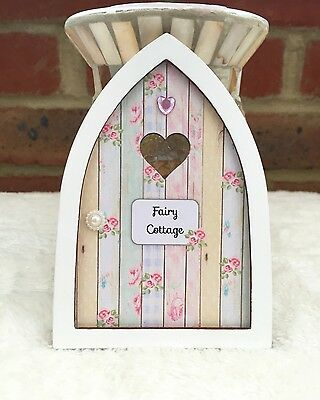 Personalised wooden magical tooth fairy elf pixie door ebay for Wooden fairy doors to decorate