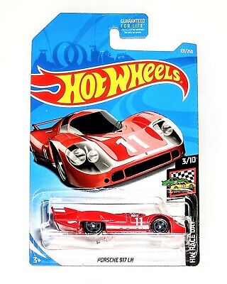 PORSCHE 917 LH Hot Wheels 2019 HW Race Day 1:64 Scale Die-cast Car Red - NEW