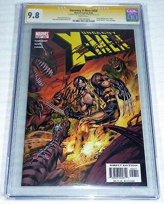 Uncanny X-Men #456 CGC SS 9.8 Dual Signature Autograph STAN LEE CLAREMONT Comic