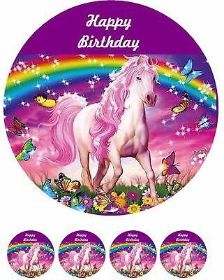 erd----Geburtstag--Party---Fondant //Oblate (Pferd Geburtstag)