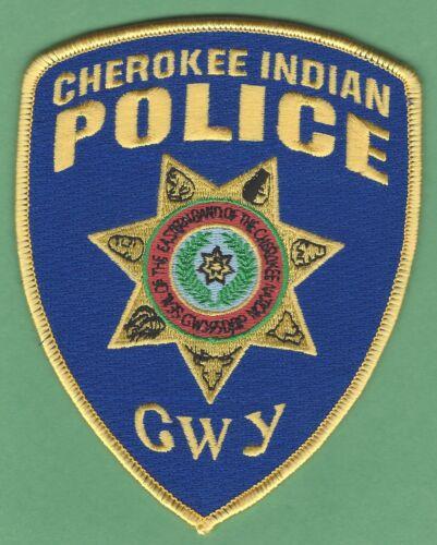 CHEROKEE INDIAN POLICE NORTH CAROLINA SHOULDER PATCH