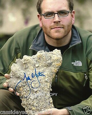 "Josh Gates host of Expedition Unknown TV Show 8x10"" Reprint Signed Photo #2 RP"