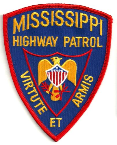MISSISSIPPI HIGHWAY PATROL - SHOULDER PATCH - IRON OR SEW-ON PATCH