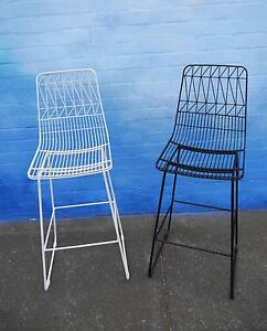 New Replica Lucy Bend Wire Bar Stools 750h Outdoor Furniture Melbourne CBD Melbourne City Preview