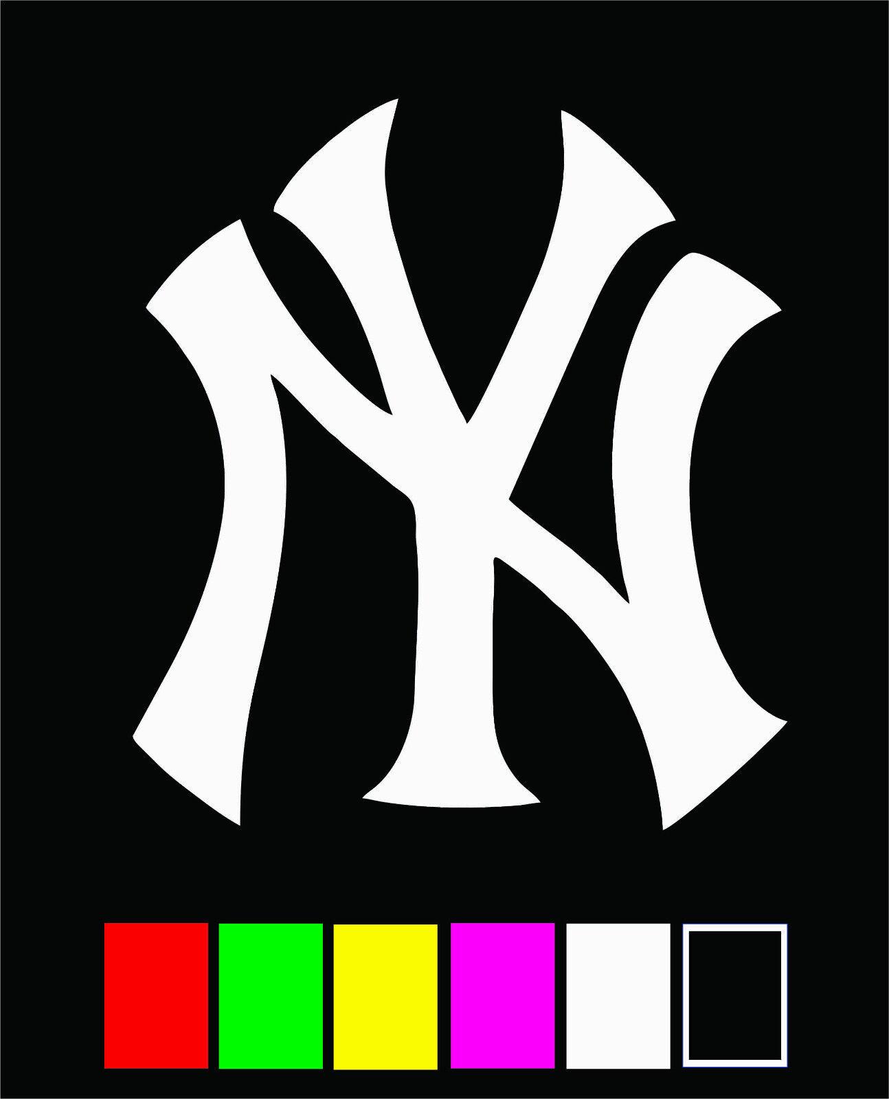 Home Decoration - NEW YORK YANKEES Die Cut Vinyl Decal Sticker