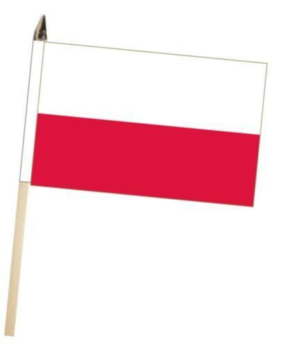 Poland Federal Large Hand Waving Courtesy Flag