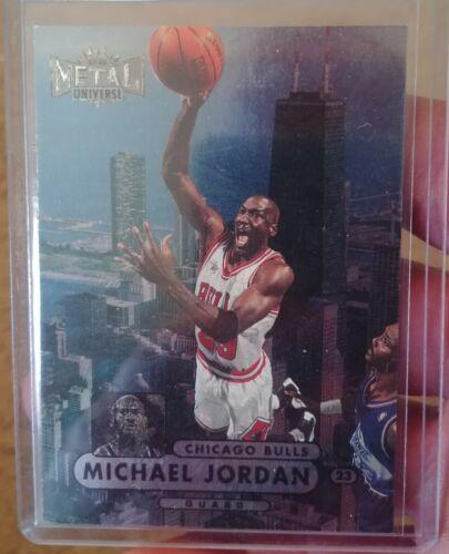Michael Jordan 1997 Skybox Metal Universe 23 - $34.98