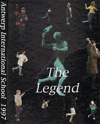 Yearbook Antwerp Belgium Antwerp International School Legend 1997