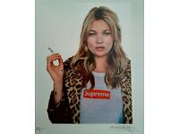 Huge and HQ print 22x28 inches Matte Supreme Kate Moss Poster FREE SHIP