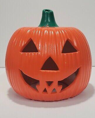 Vintage Ceramic Halloween Jack O Lantern Pumpkin Mold