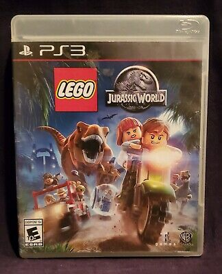 LEGO Jurassic World (Sony PlayStation 3 PS3) Clean, Excellent, Free Shipping