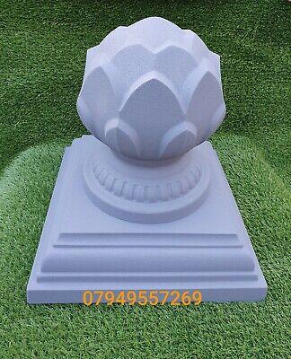PierPillar Caps 380mm Square Base With Lotus