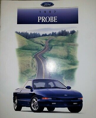 1997 Ford Probe Original Sales Brochure GT GTS
