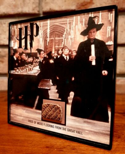 Harry Potter Great Hall Wood Movie Prop Framed Display Piece - $35.00