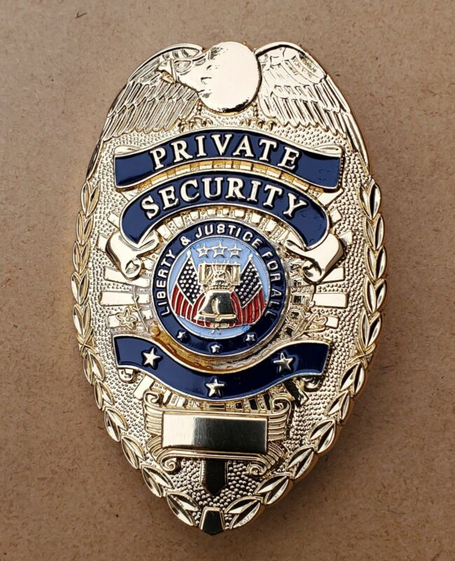 Private Security Badge (GOLD)