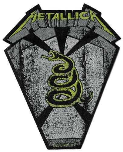 Metallica Pit Boss Coffin Die-Cut Patch [UK Import] Standard 10-centimeter Badge
