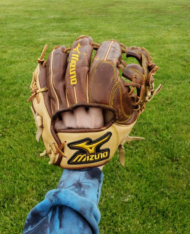 "Mizuno Classic Pro Soft Baseball Glove GCP40S 11.25"" Throwback Leather - Retired"