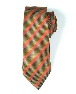 1960s – 70s Men's Ties | Skinny Ties, Slim Ties Givenchy Slim Vintage Tie Men's Silk Red Gold Green Christmas Holiday Necktie $9.99 AT vintagedancer.com