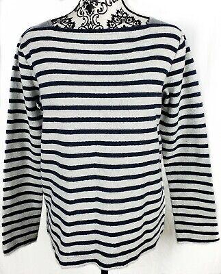T Alexander Wang Womens Cotton Knit Striped Sweater Size XS