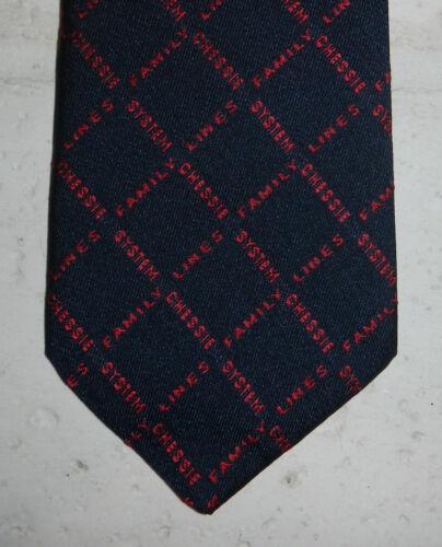 Vintage Chessie System Family Lines CSX Railroad Train Logo Mens Necktie Tie