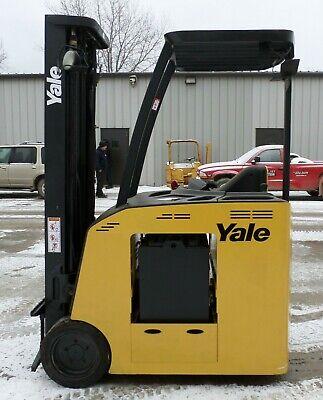 Yale Model Esc040fa 2008 4000 Lbs Capacity Great Electric Docker Forklift