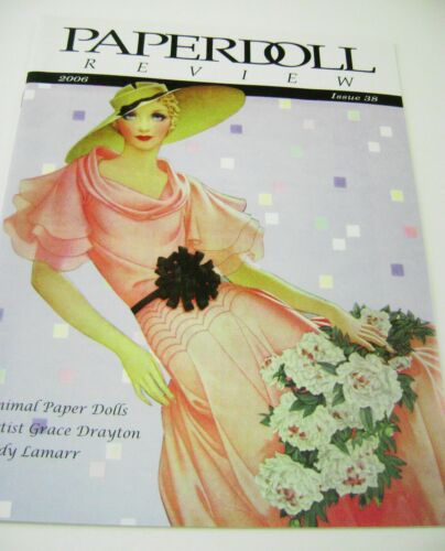 Paperdoll Review Magazine Issue #38, 2006 Convention Basia Koenig cover HTF!!!