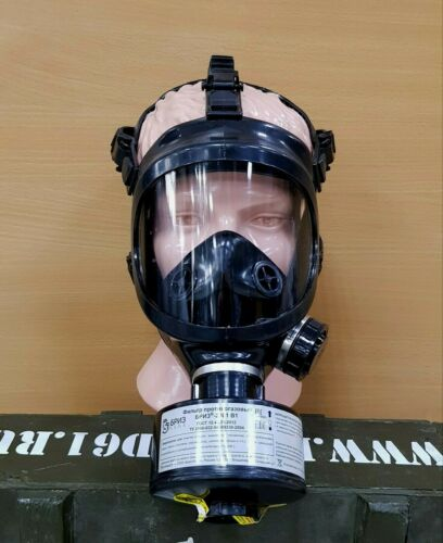 Panoramic Gas Mask BREEZE-4301M (PPM) complete with filter. Size L. New!