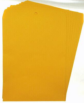 Lot Of 10  10 X 13 Manila Envelopes Clasp Heavy Duty Seal Mailer