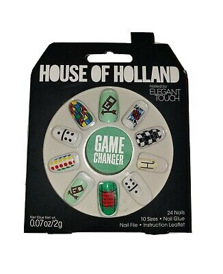 House Of Holland Nails By Elegant Touch - GAME CHANGER . NEW